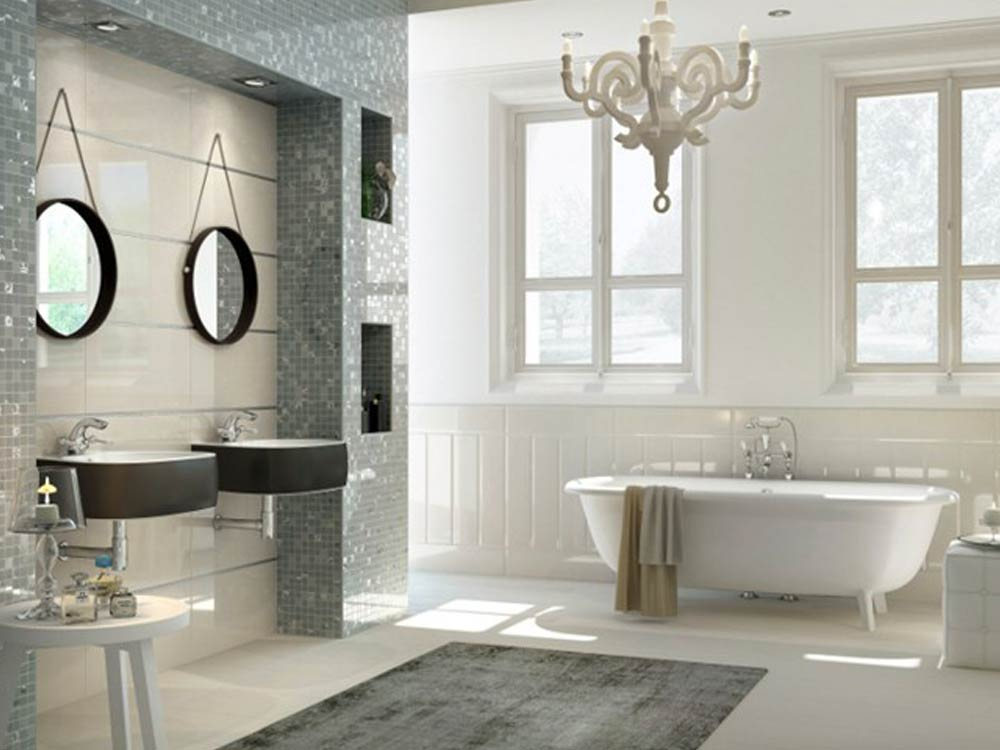 Design di lusso per il bagno mam ceramiche for Lampadari x bagno