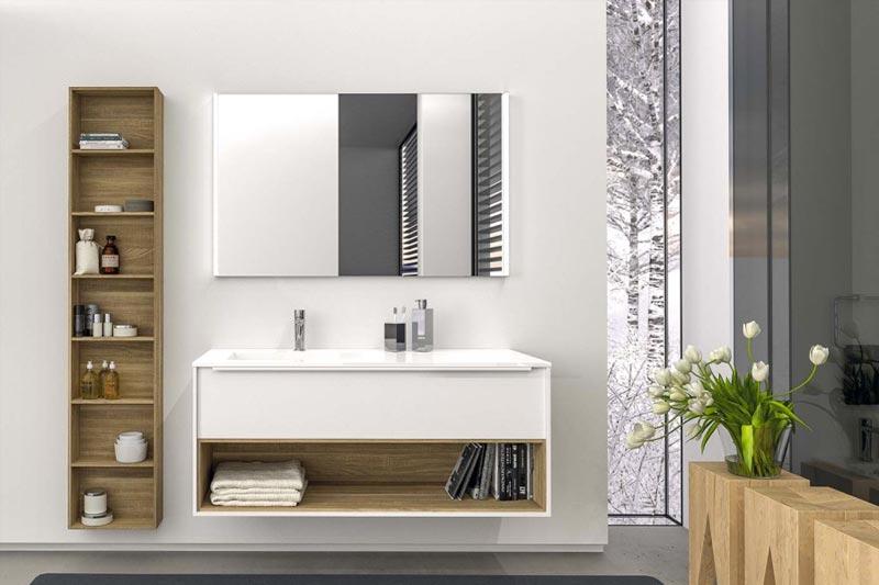 mobile bagno serie manhattan di berloni bagno