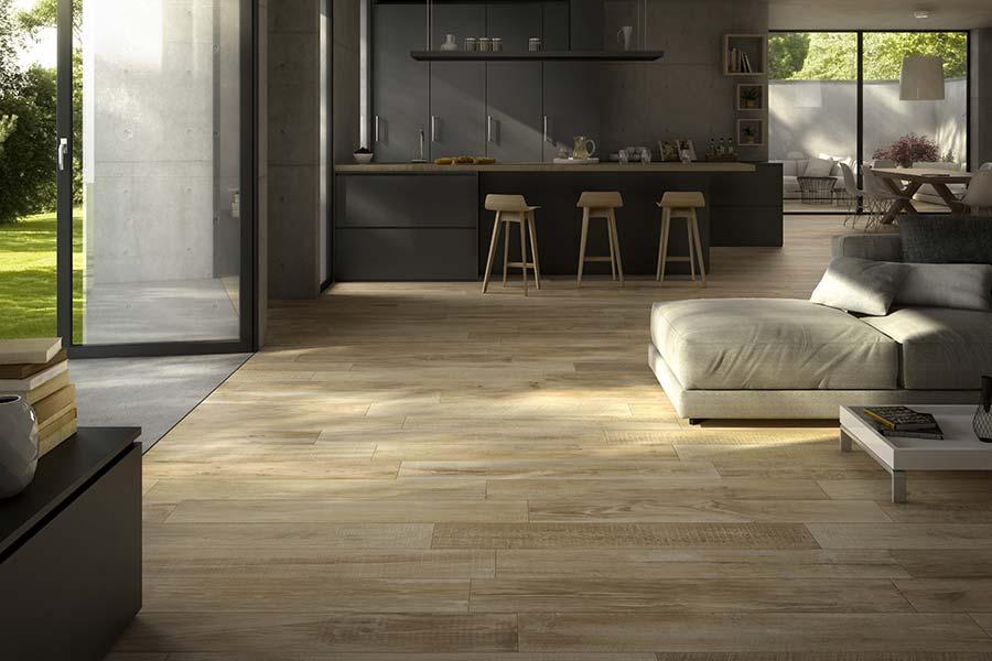 Gres effetto legno collezione cross wood di panaria mam for Gres effetto legno senza fuga