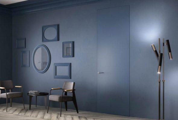 Porte filo muro, ultima tendenza di design.