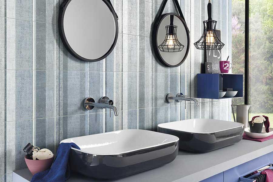 Come scegliere il rivestimento del bagno mam ceramiche - Comporre un bagno ...