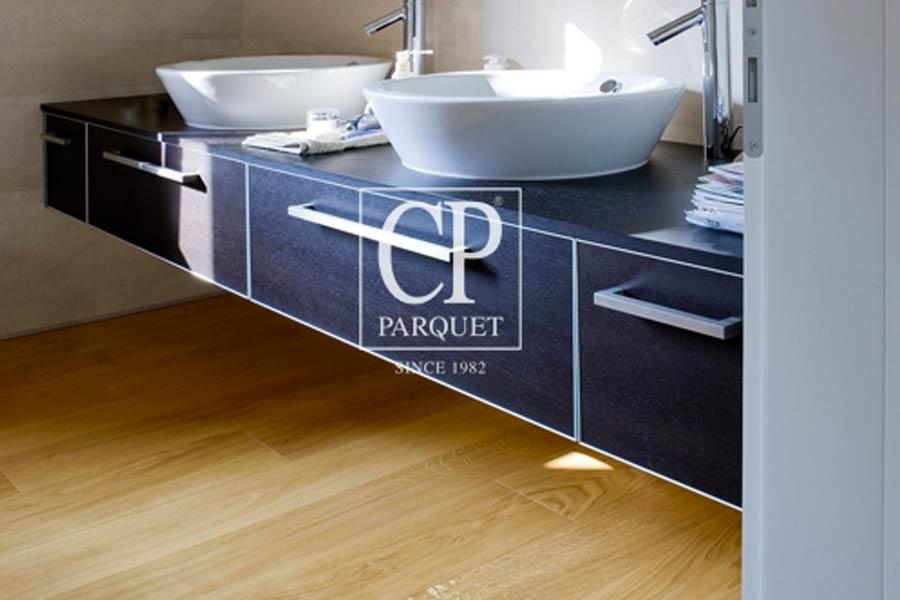 Utilizzare il parquet in cucina e in bagno mam ceramiche - Parquet in bagno e cucina ...