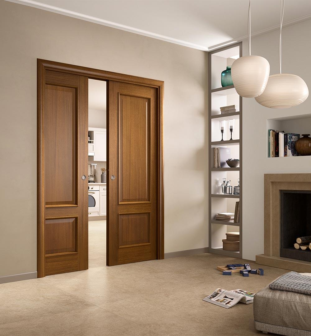 Porte ferrerolegno porte finestre roma porte per interni for Divisori interni sospesi