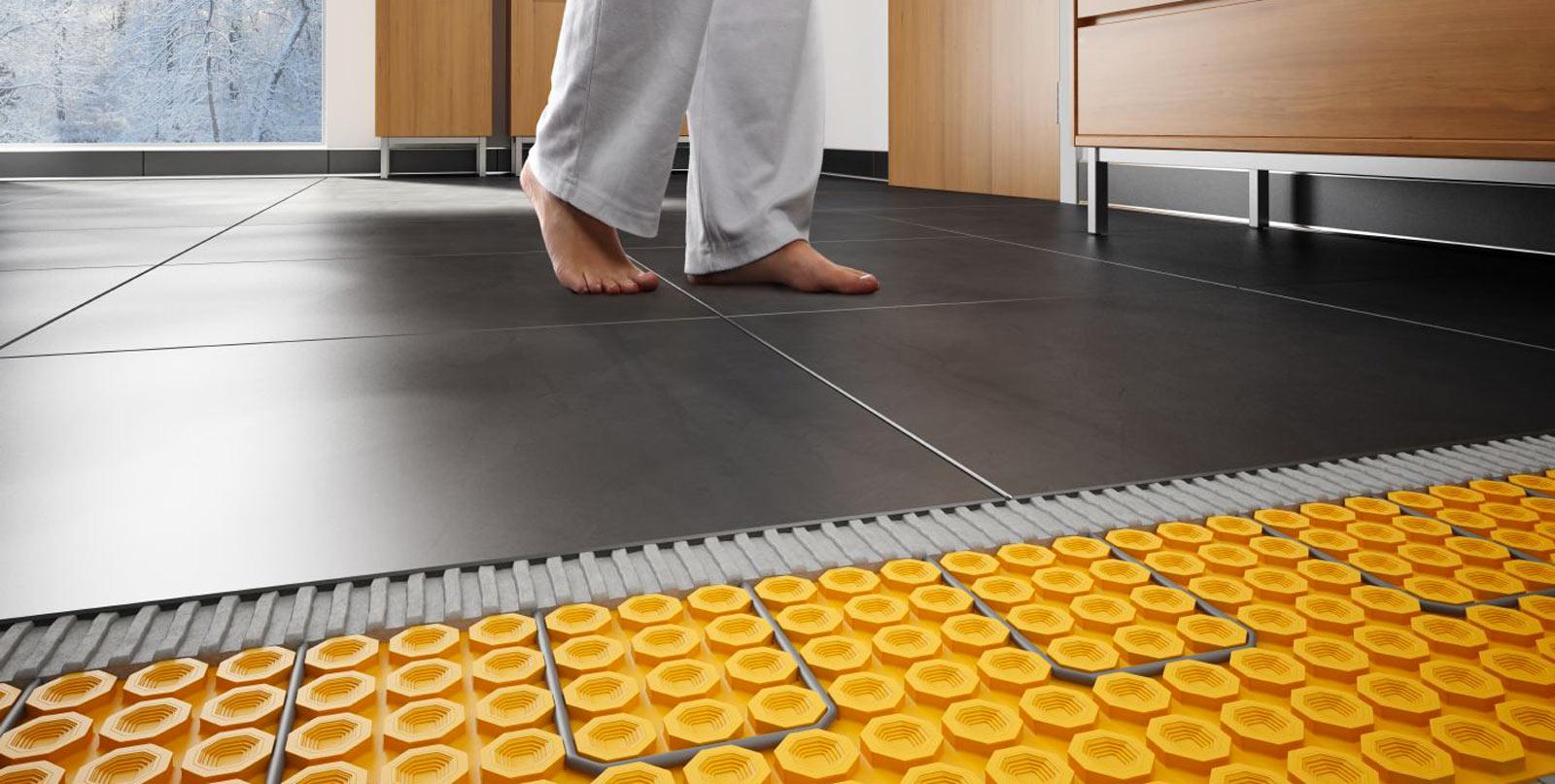 Piastrelle adatte per riscaldamento a pavimento riscaldamento a