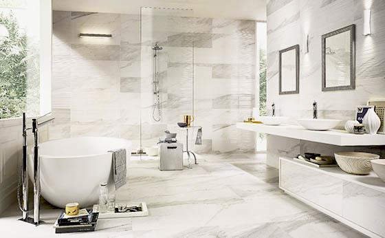 Italgraniti rivestimenti bagno roma rivestimenti in gres porcellanato - Rivestimenti bagno roma ...