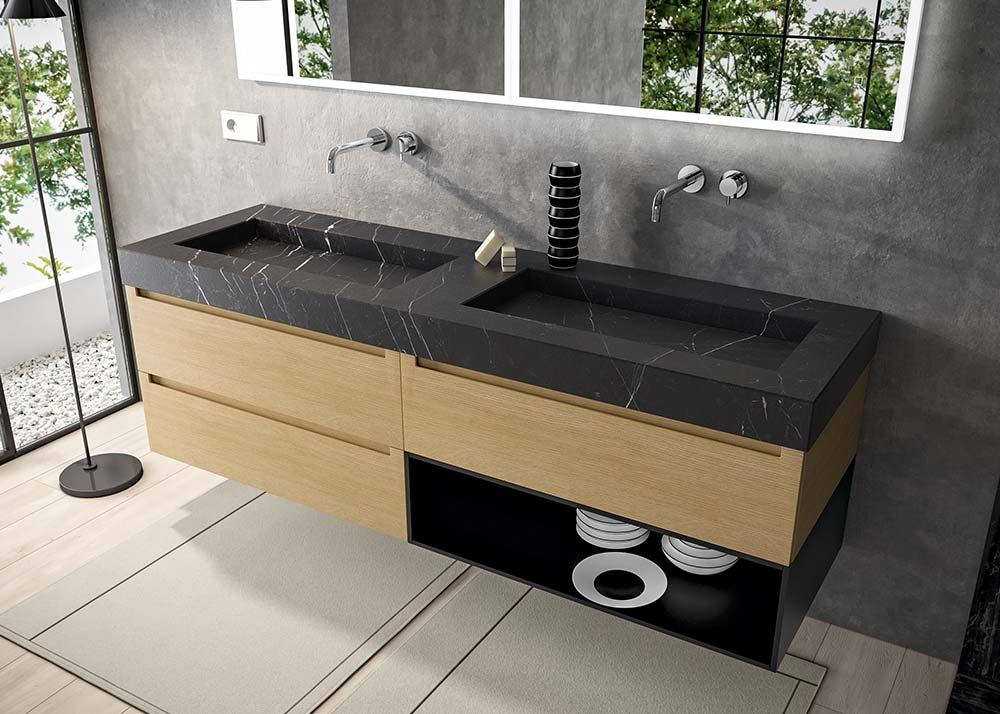 Mobili bagno moderni e di design migliori marche e vasta for Mobili bagno roma